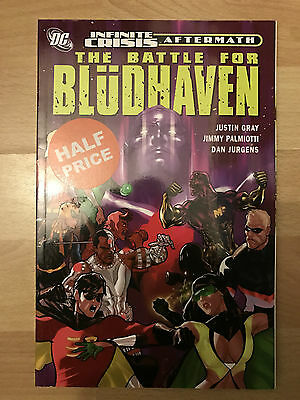Battle for Bludhaven TPB graphic novel dc comics paperback robin