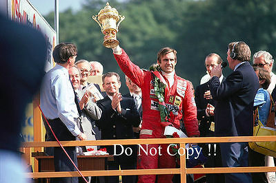 Carlos Reutemann Ferrari 312 T3 Winner British Grand Prix 1978 Photograph 3