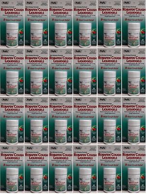 ROBAFEN Generic for Robitussin CoughGels Cough Relief 20 ea. Pack of 24