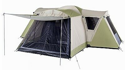 OZtrail Latitude Family Dome Tent with Large Design, Quick to Set Up, 12 Person