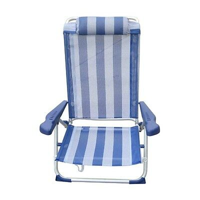 B210 Silla Playa Reclinable 5 Posiciones - Rojo