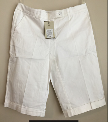 BNWT country road womens laides CUFF SHORT stretch Black or white rrp $89.95