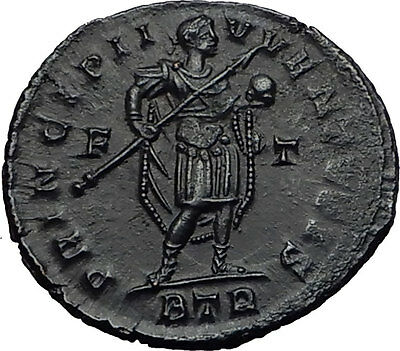 CONSTANTINE II Jr. Constantine the Great Son 317AD Ancient Roman Coin i60604