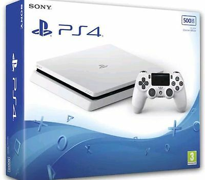 Ps4 Console 500Gb Slim Playstation 4 Slim Bianca Sony Slim D Chassis