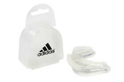 Adidas Double Gum Shield Boxing Sparring Mouth Protection Mouth Guard Adult Mens
