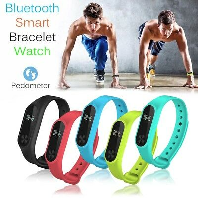 NEW Bluetooth Tracker Sport Bracelet Heart Rate Monitor Smart Watch Wristband