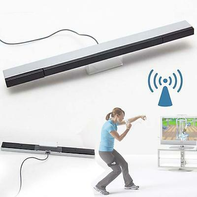 FC Wired Infrared IR Signal Ray Sensor Bar/Receiver for Nitendo Wii Remote GZ~d