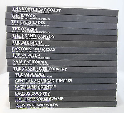The American Wilderness, Time-Life Books, Collection of 16 Volumes
