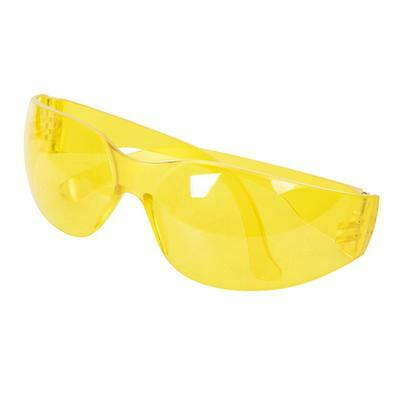 Silverline Safety Glasses UV Protection Yellow 309636