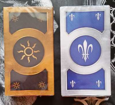 TWO exclusive GWENT CARD DECKS from WITCHER 3 WILD HUNT XONE CE in Polish  rare