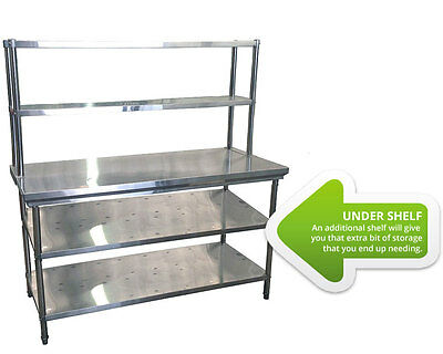 Extra Undershelf for 1200mm Table