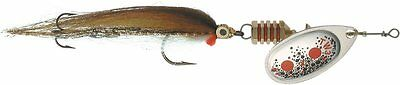 Mepps Aglia TW Streamer Silver Spinner Fly Fishing Lure Size 2 4.7g - 3 Pack