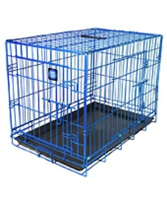 Dog Life Coloured Dog Crate/Cage 2 Sizes 3 Colours