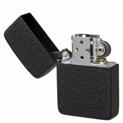 Zippo 1941 Vintage Replica Pocket Lighter, Black Crackle, Windproof #28582