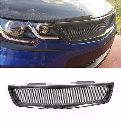 Real Carbon Fiber Radiator Grille Front Grill For KIA Forte Koup 2009~2012