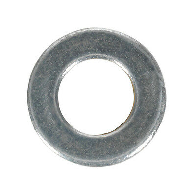 Genuine SEALEY FWA612 | Flat Washer M6 x 12mm Form A Zinc DIN 125 Pack of 100