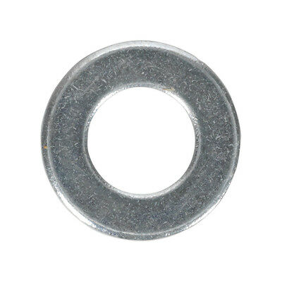 Genuine SEALEY FWA817 | Flat Washer M8 x 17mm Form A Zinc DIN 125 Pack of 100