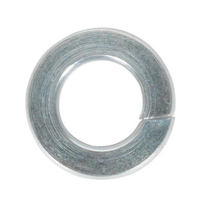 Genuine SEALEY SWM5 | Spring Washer M5 Zinc DIN 127B Pack of 100
