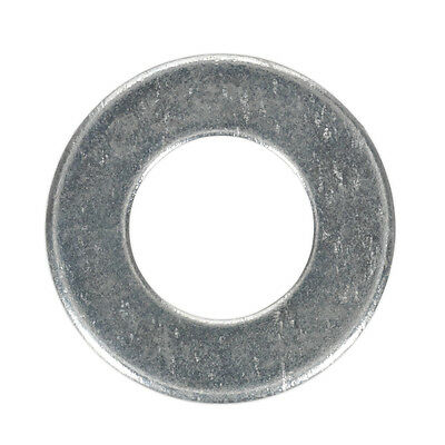 "SEALEY FWI105 | Flat Washer 1/4"" x 9/16"" Table 3 Imperial Zinc BS 3410 Pack x100"