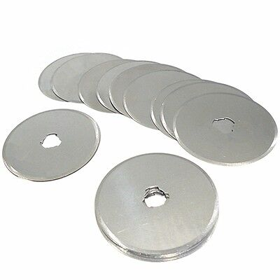 45mm Rotary Cutter Blades Fabric Craft Paper Etc Cheapest On eBay! X 5