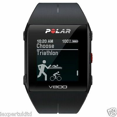 Polar V800 GPS Sports Watch - New Model  2017 Full Black 90060771 Warranty NEW