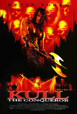 Kull The Conqueror (1997) Original International Movie Poster  -  Rolled