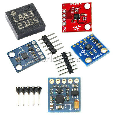 HMC5883L GY-271 GY-273 Triple Axis Compass Magnetomet Sensor 3V-5V For Arduino
