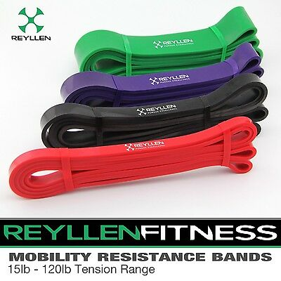 Reyllen CrossFit Pull-Up Stretch Band Resistance  for Training Rehab Prehab UK