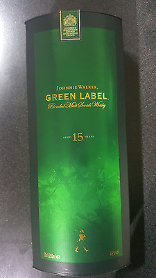 VERY RARE AND EXCLUSIVE JOHNNIE WALKER Green Label 200ml In Box