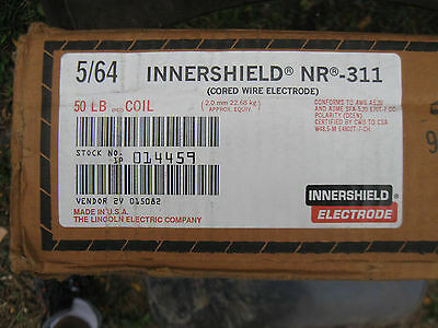 Lincoln Electric Welding Wire 5/64'' NR-311 Innershield 50 lb Coil