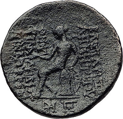 DEMETRIOS II Nikator -RARE R1 R2 SELEUKID Zeus Apollo Ancient Greek Coin i60661