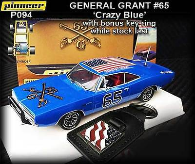 Pioneer P094 - 1968 Dodge Charger The General Grant - suits Scalextric track