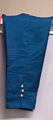 Pakistani/Indian CIGARETTE /CIGRETTE Pants Trousers Raw Silk Eid Collection