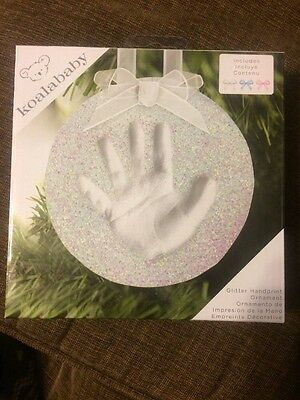 Koala Baby Glitter Handprint Ornament Kit Brand New