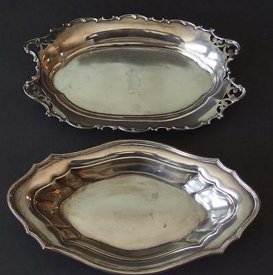 TWO (2) STERLING SILVER TRAYS Lot 61