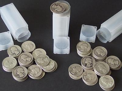 120 WASHINGTON SILVER QUARTER COINS Lot 288