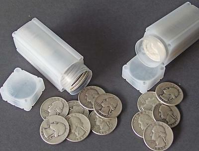 80 WASHINGTON SILVER QUARTER COINS Lot 170