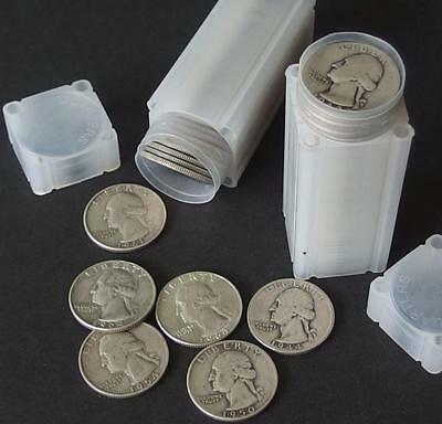80 WASHINGTON SILVER QUARTER COINS Lot 77
