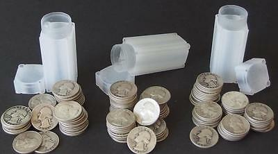 120 WASHINGTON SILVER QUARTER COINS Lot 125