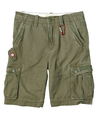 Element - Source Cargo Mens Shorts Olive