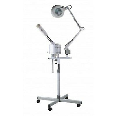 Skin Care Therapist Facial Dermatologist Beauty Machine Steamer Magnifying Lamp