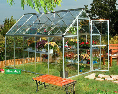 MAZE GREENHOUSE 6 x 10 ft (185cm x 310cm) - Aluminum Frame, high quality
