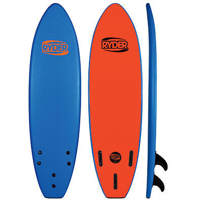 Ryder Prodigy Foam Soft Surfboard 6ft - (Various Colours) RRP$269