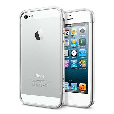 Apple iPhone 5S - 32 GB Unlocked - Silver ( Refurbished with 1 year warranty )