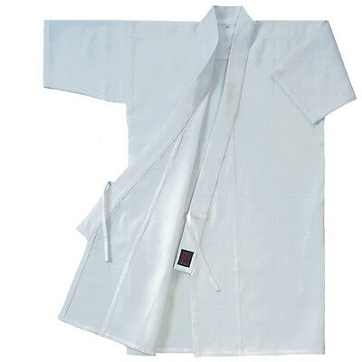 KUSAKURA Japan KYUDO Gi Japanese Archery Jacket RUA White cotton 100%