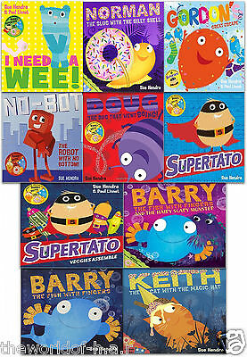Sue Hendra's Supertato & Other Stories - 10 Book Set Collection