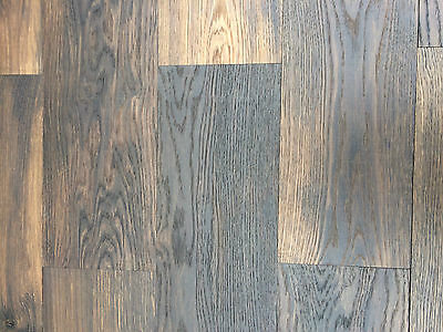 Solid Smoked Country Oak 170x10mm Wood Flooring 23.460m2 WOOD WALL PANNELING?