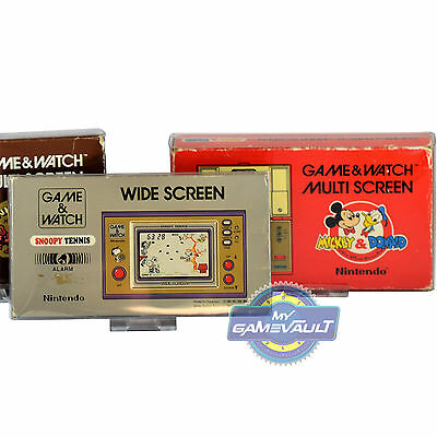3 Game & Watch Small Display Stands Also SNES, NES, N64 GameBoy Video Games etc