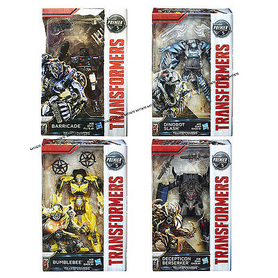 100% Hasbro Transformers MV5 The Last Knight Deluxe Wave 1 Set Of 4 #In Stock