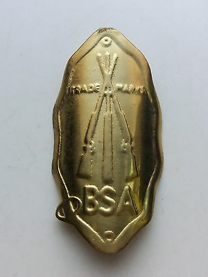 BSA Brass Emblem Head Badge For BSA Vintage Bicycle NOS Free Shipping